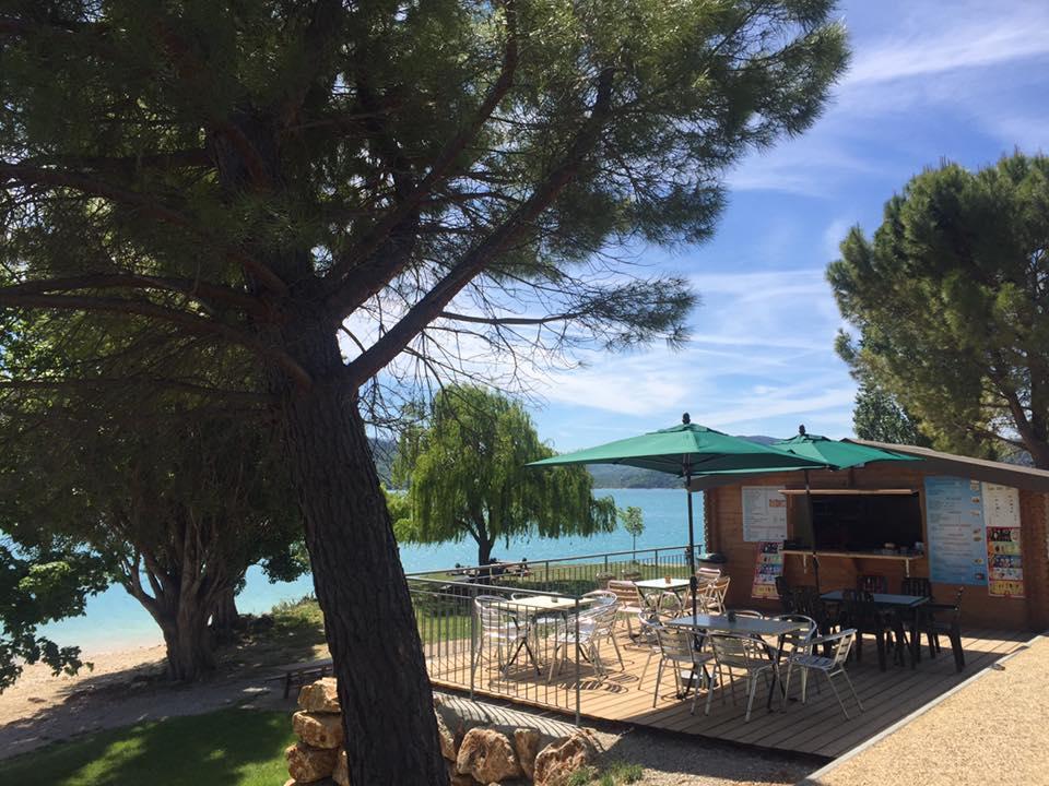 Snack vue Lac Sainte-Croix-du-Verdon,
